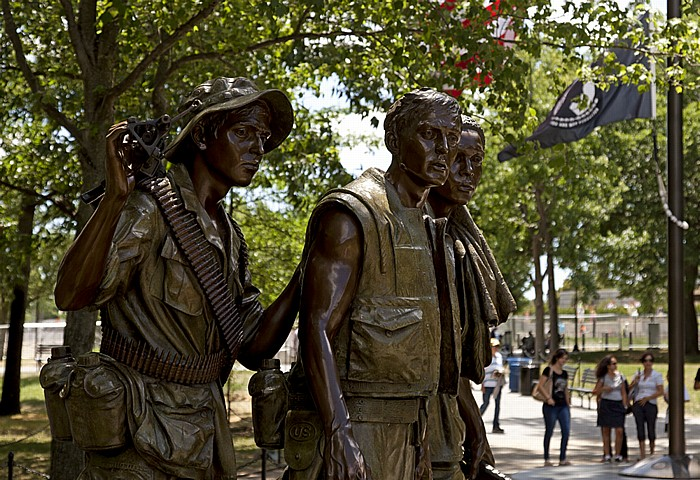 Washington, D.C. National Mall: The Three Soldiers (The Three Servicemen)