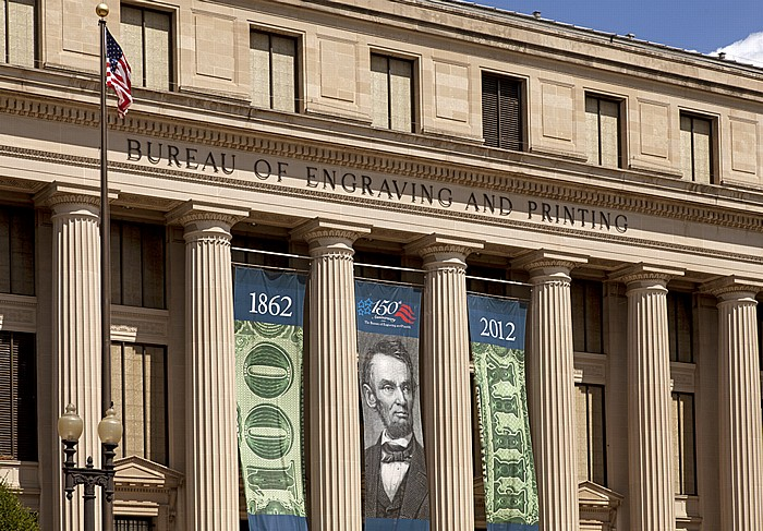 Washington, D.C. Southwest Federal Center: Bureau of Engraving and Printing (BEP)