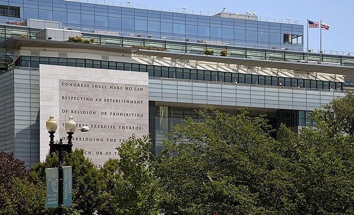 Judiciary Square: Newseum Washington, D.C.