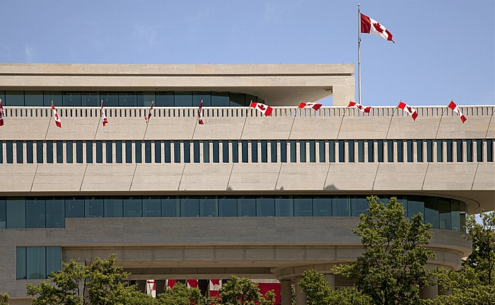 Washington, D.C. Judiciary Square: Kanadische Botschaft (Embassy of Canada)