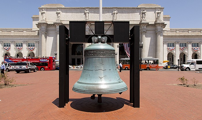 Washington, D.C. American Legion Freedom Bell Union Station