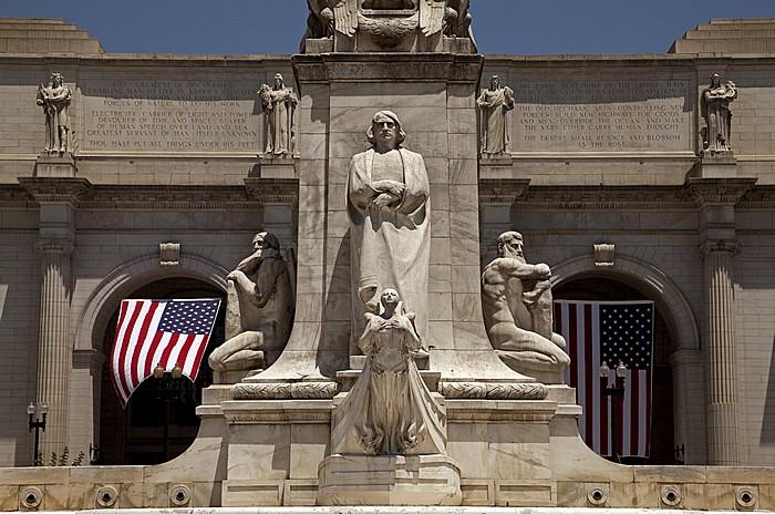 Washington, D.C. Christopher-Columbus-Denkmal Union Station