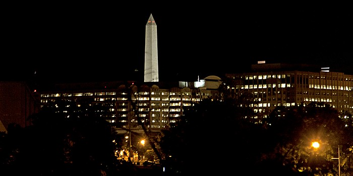 Washington, D.C. Blick aus dem Channel Inn: Washington Monument