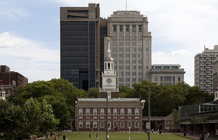 Philadelphia Independence National Historical Park: Independence Hall Penn Mutual Life Building Penn Mutual Tower