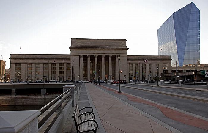 Philadelphia University City: John F. Kennedy Boulevard Bridge, 30th Street Station, Cira Centre