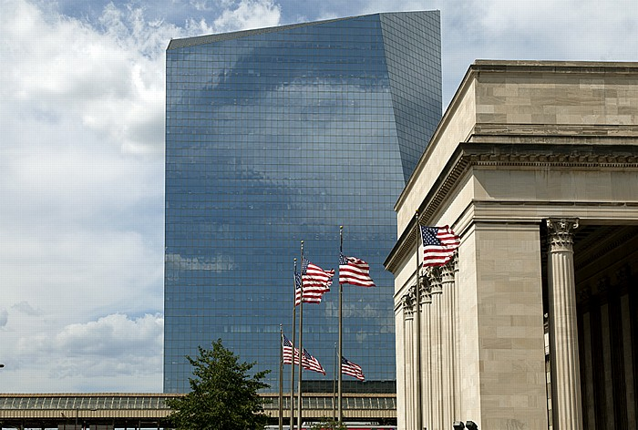 Philadelphia University City: Cira Centre und 30th Street Station