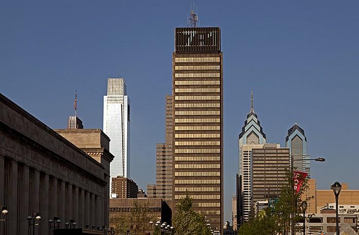 Philadelphia University City: 30th Street Station Center City Comcast Center One Liberty Place PECO Building Two Liberty Place