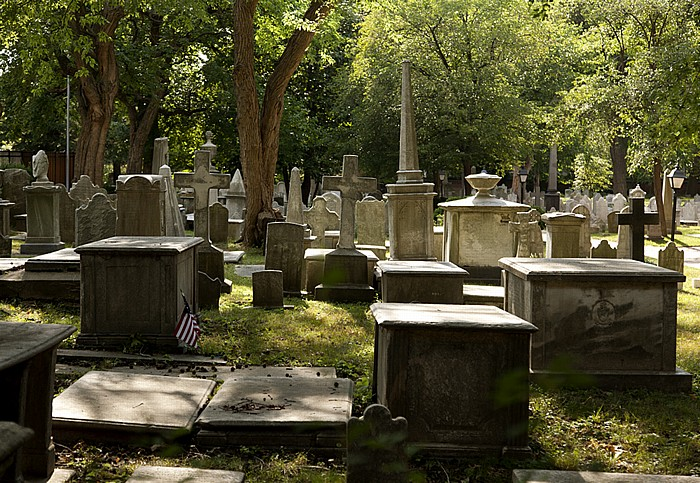 Philadelphia Society Hill (Old City): Friedhof der St. Peter's Church