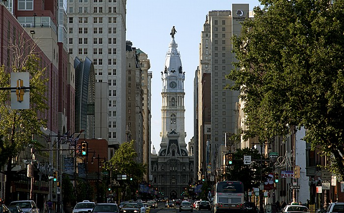 Philadelphia Broad Street (Avenue of the Arts) Philadelphia City Hall Rittenhouse Square Washington Square