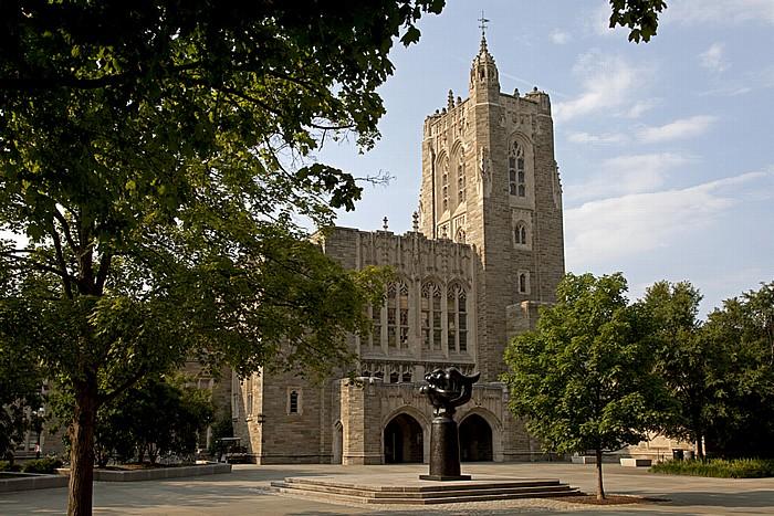 Princeton University: Princeton University Library (Firestone Library)