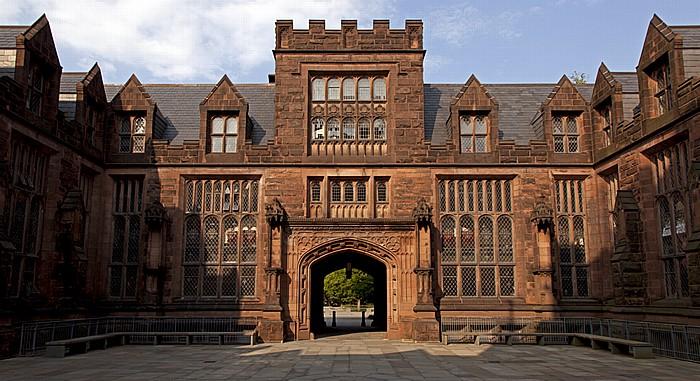 Princeton University: East Pyne - Innenhof