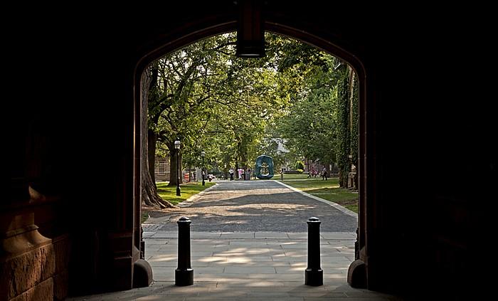 Princeton University: East Pyne Skulptur