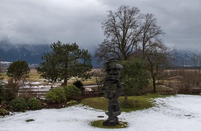 Murnau Blick aus dem Hotel Alpenhof