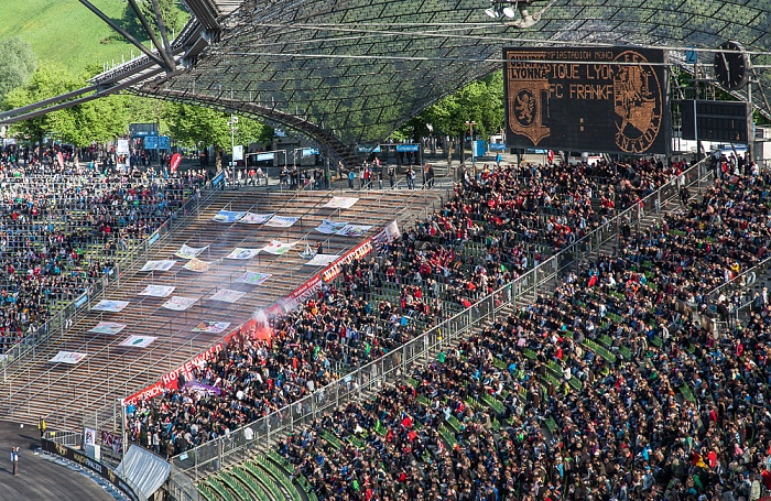 Olympiastadion: Südkurve München 2012