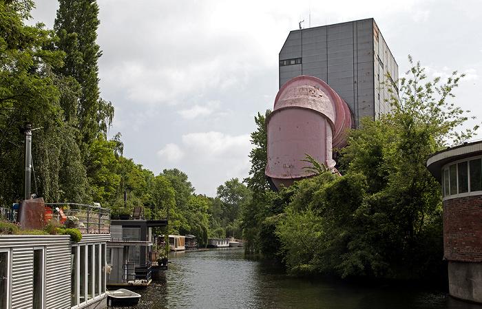 Berlin Tiergarten: Ehem. Versuchsanstalt für Wasserbau und Schiffbau (Umlauftank UT2) Flutgraben Landwehrkanal