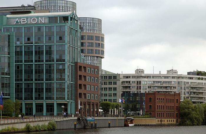 Berlin Moabit: Spree, ABION Spreebogen Waterside Hotel