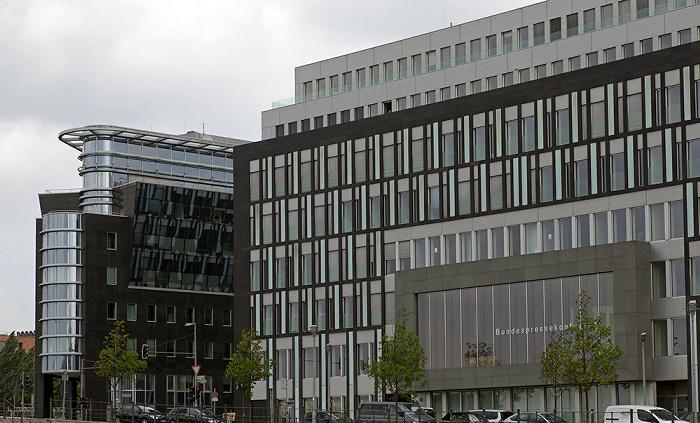 Berlin Mitte (Regierungsviertel): Gebäude der Bundespressekonferenz Bürogebäude Spree-Eck Haus der Bundespressekonferenz