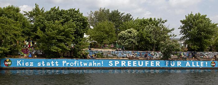 Berlin Friedrichshain: Spree, Spreeufer Kiez statt Profitwahn