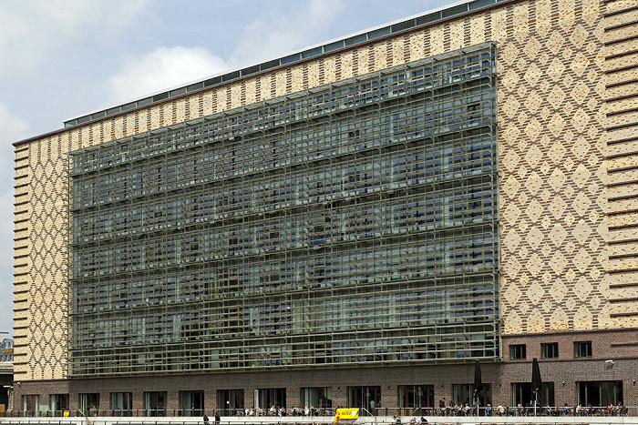 Berlin Friedrichshain: Oberbaum City - Eierkühlhaus (Deutschlandzentrale von Universal Music)