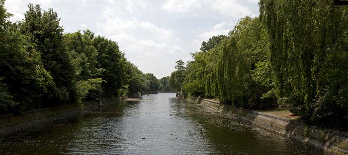Berlin Treptow (links) / Kreuzberg: Landwehrkanal
