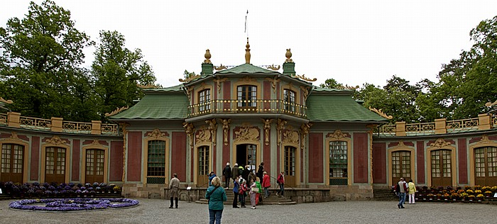 Stockholm Schloss Drottningholm (Drottningholms slott): Chinesisches Schloss (Kina slott)