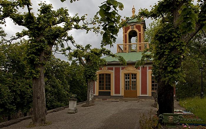 Stockholm Schloss Drottningholm (Drottningholms slott): Chinesisches Schloss (Kina slott) - Nebengebäude