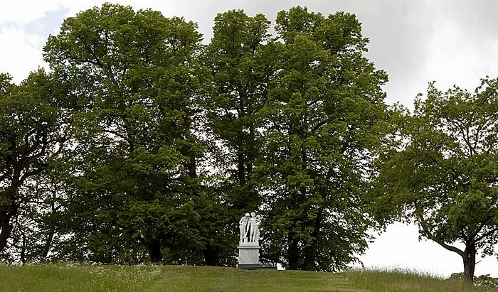 Stockholm Schloss Drottningholm (Drottningholms slott): Parkanlage