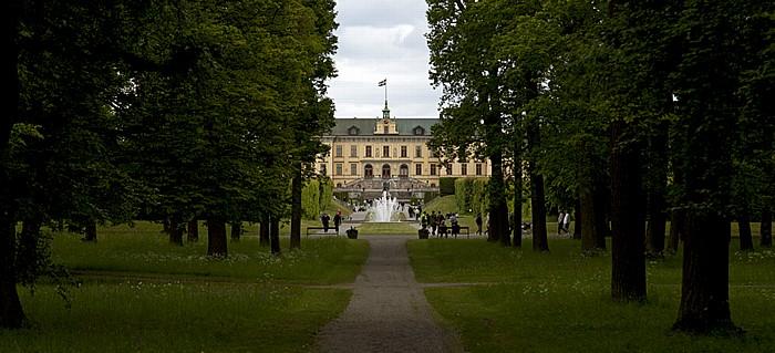 Stockholm Schloss Drottningholm (Drottningholms slott): Barockgarten