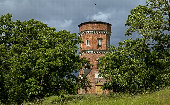 Stockholm Schloss Drottningholm (Drottningholms slott): Englischer Garten
