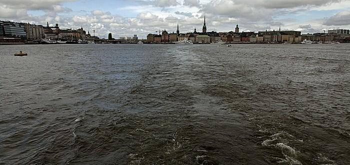 Fähre Stockholm - Vaxholm: Saltsjön Stockholm 2012