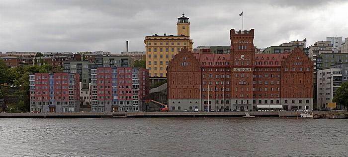 Fähre Stockholm - Vaxholm: Nacka - Elite Hotel Marina Tower