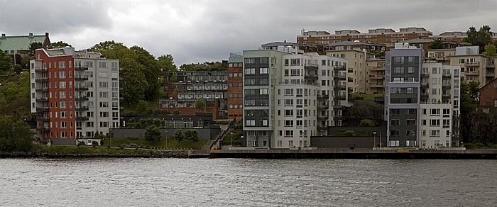 Fähre Stockholm - Vaxholm: Nacka