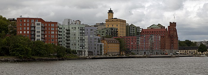 Fähre Stockholm - Vaxholm: Nacka Elite Hotel Marina Tower