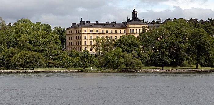 Fähre Stockholm - Vaxholm: Djurgarden - Manillaskolan