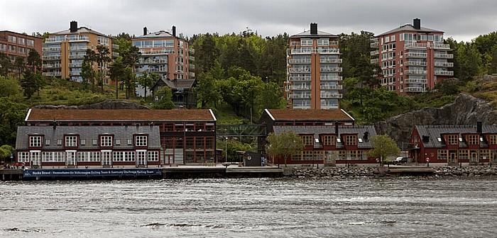 Fähre Stockholm - Vaxholm: Nacka Strand