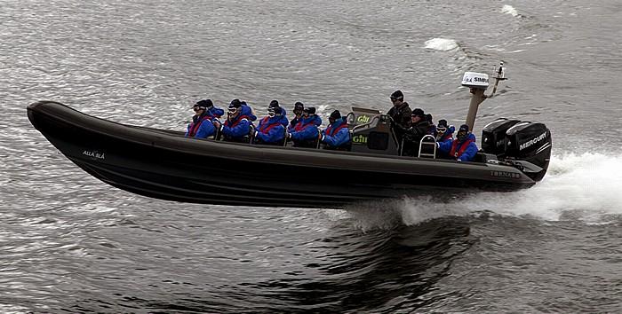 Fähre Stockholm - Vaxholm: Speedboot