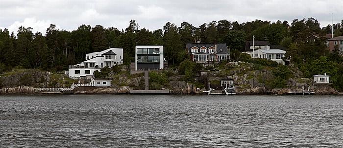 Fähre Stockholm - Vaxholm: Lidingö