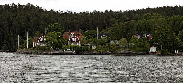 Fähre Stockholm - Vaxholm: Kungshamn