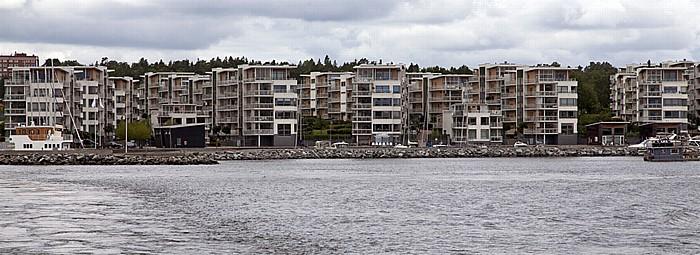 Fähre Stockholm - Vaxholm: Lidingö - Brevik