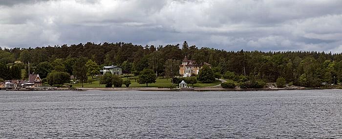Schärengarten Fähre Stockholm - Vaxholm: Lidingö - Elfvik