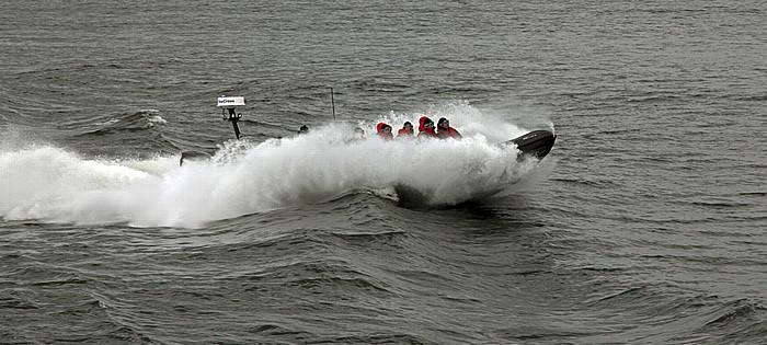 Schärengarten Fähre Stockholm - Vaxholm: Speedboot