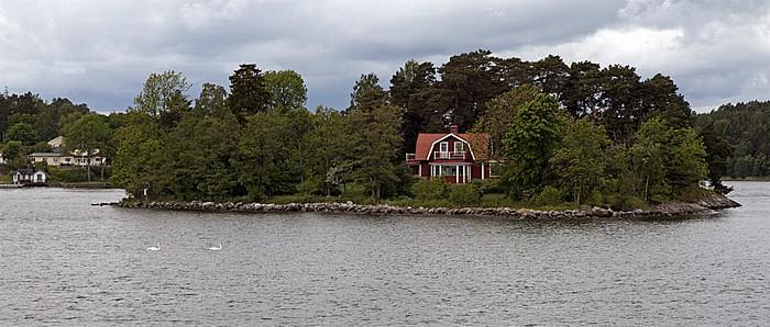 Schärengarten Fähre Stockholm - Vaxholm