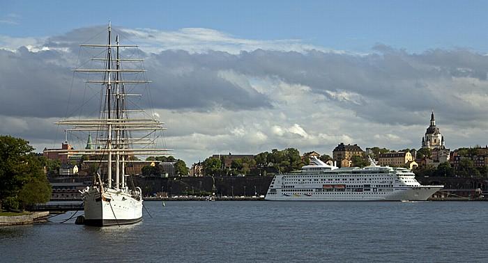 Skeppsholmen: Segelschiff Af Chapman Stockholm 2012