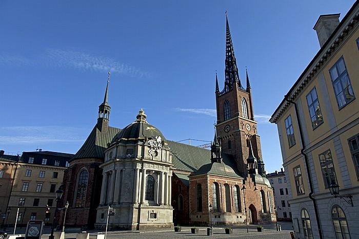 Altstadt Gamla stan: Riddarholmen - Riddarholmskyrkan (Riddarholmskirche) Stockholm 2012
