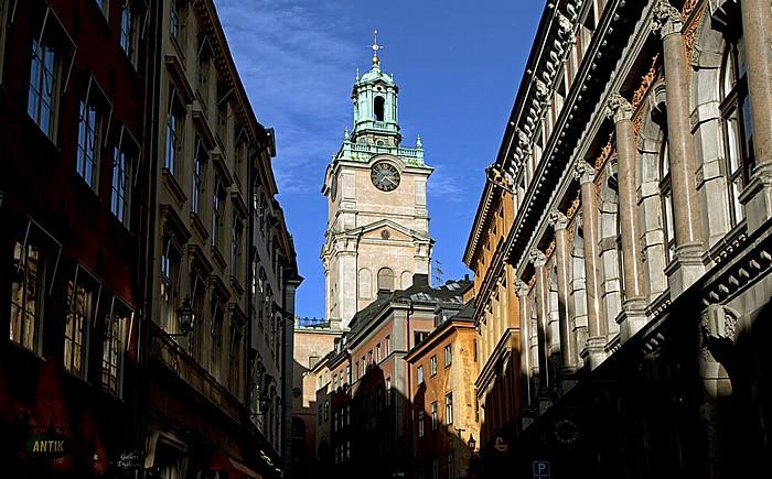 Altstadt Gamla stan: Storkyrkobrinken - Sankt Nikolai kyrka (Storkyrkan) Stockholm 2012