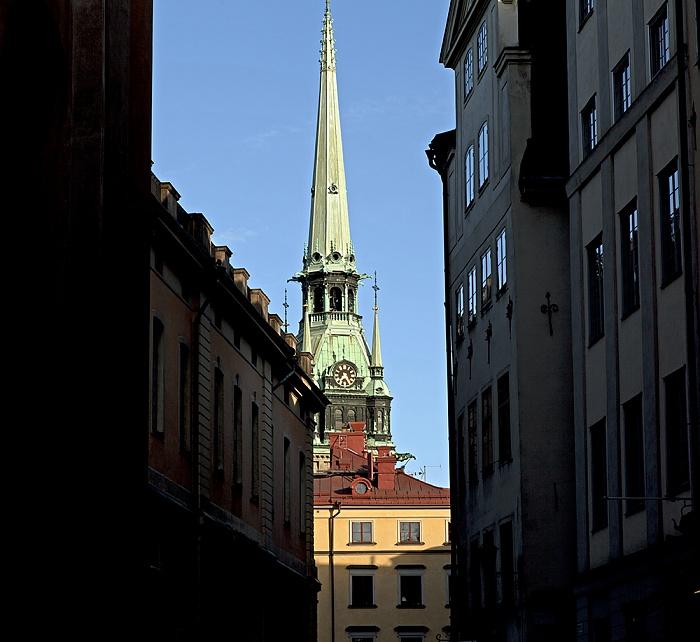 Altstadt Gamla stan: Tyska kyrkan (Deutsche Kirche) Stockholm 2012