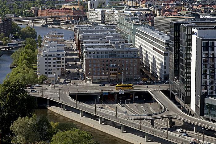 Blick vom Stadshuset (Stadthaus): Norrmalm Stockholm 2012
