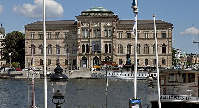 Norrmalm: Blasieholmen - Schwedisches Nationalmuseum Stockholm 2012