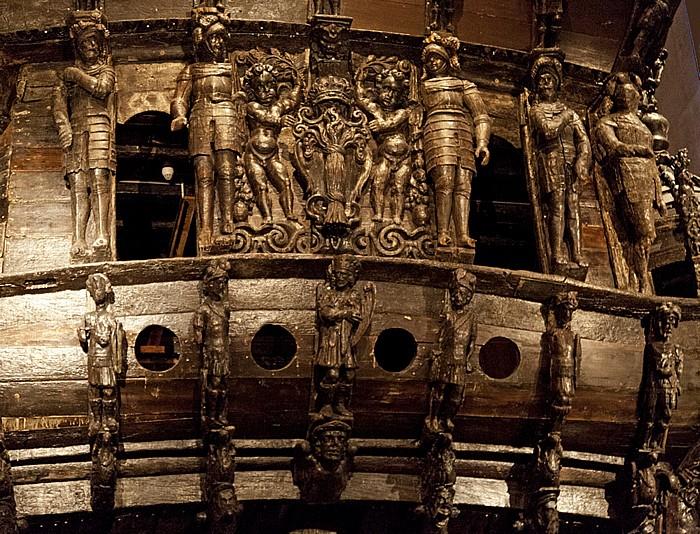 Djurgarden: Wasamuseum (Vasamuseet) - Vasa (Wasa) Stockholm 2012