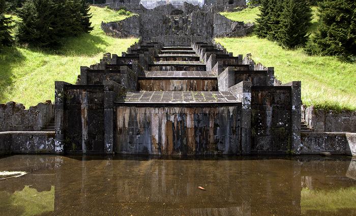 Kassel Bergpark Wilhelmshöhe: Oberes und Unteres Wassertheater, Kaskaden